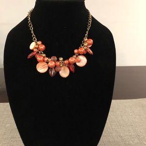 Gold and orange Fashion jewelry